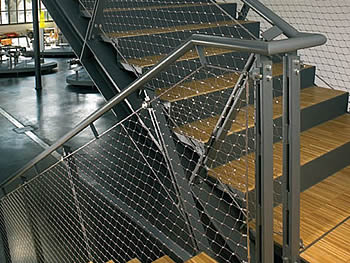 Cable Netting For Staircase